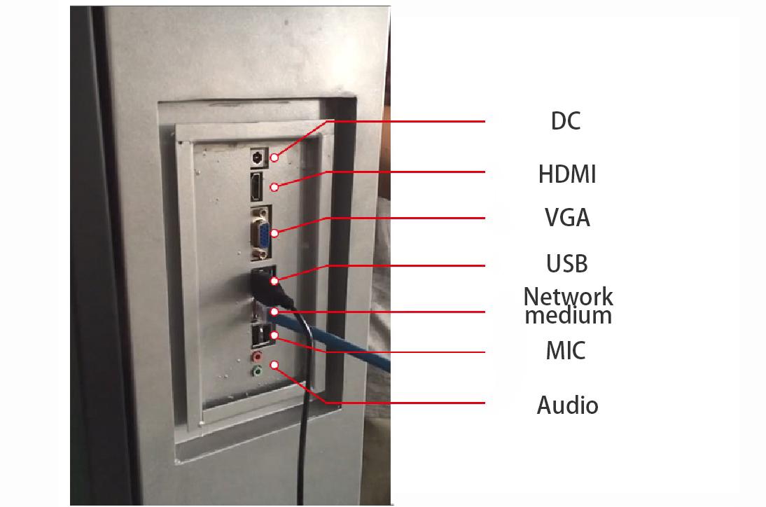 Custom digital inch digitalsignage Hengstar nits