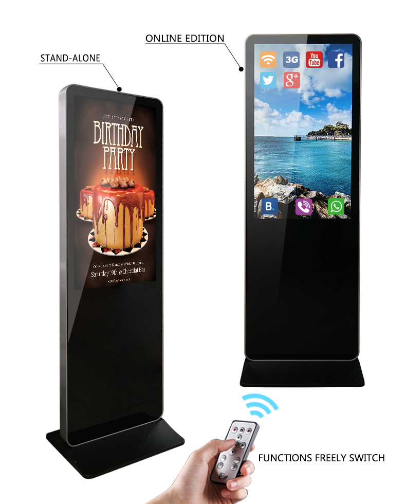 Hengstar Brand standing signage advertising screen display digital supplier