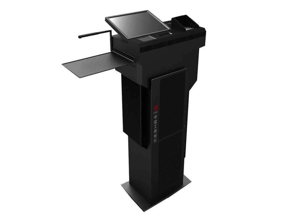 Hengstar Brand touch bank reader card self service kiosk