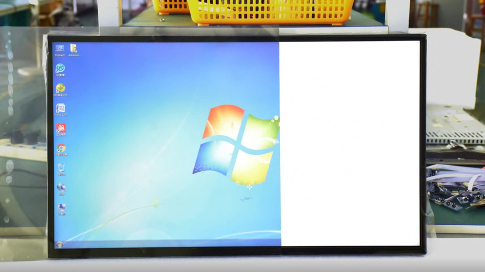 LCD Screen no Polarized film Polarized fliter