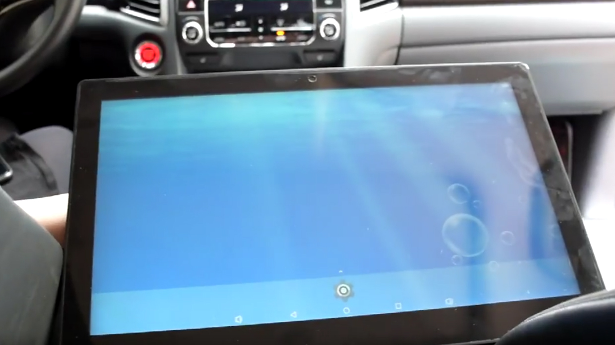 tablet pc with Car adapter