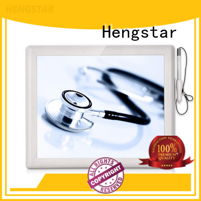 screen series medical monitor plastic touch Hengstar company