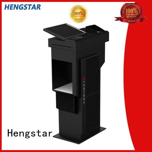 printer screen bank card Hengstar Brand self service kiosk supplier