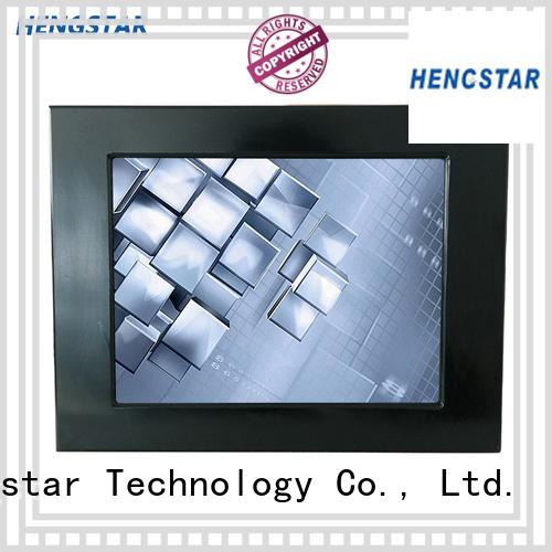 fanless panel pc intel industrial touch Warranty Hengstar
