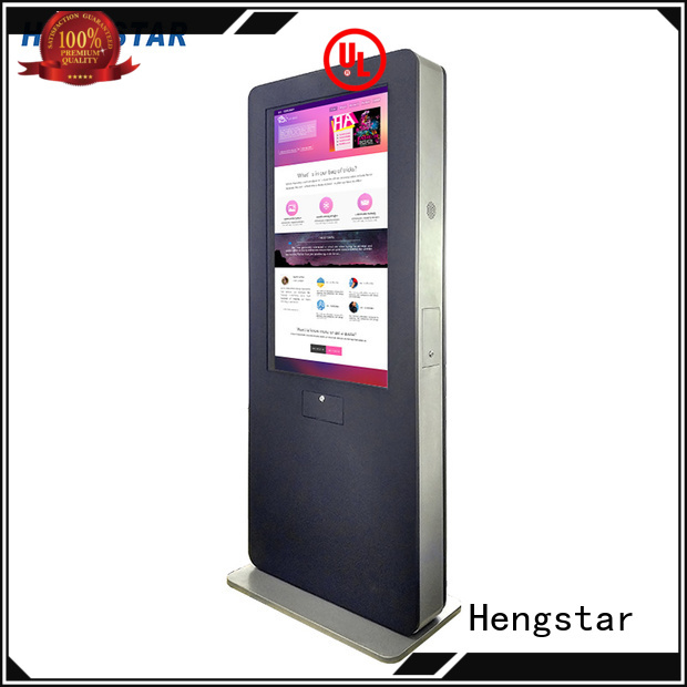 nits inch Hengstar Brand digital signage totem factory