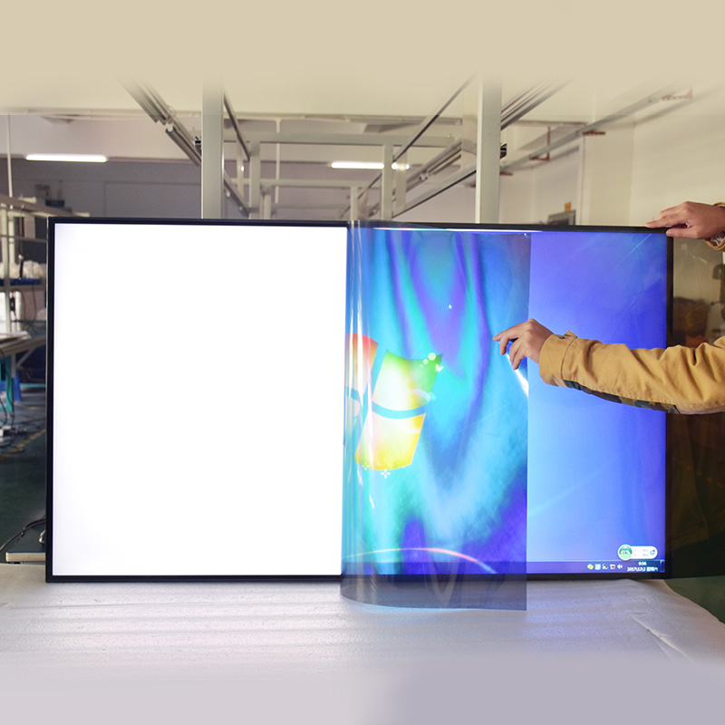 Hottest transparent lcd screen wholesale without backlight/polarizer film