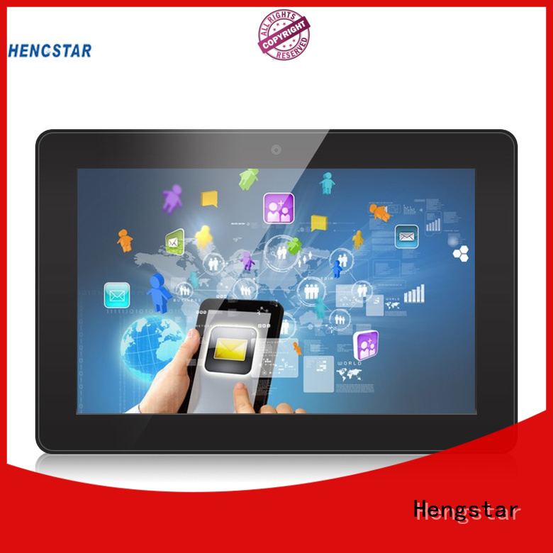 industrial touch screen display resistive industrial panel pc Hengstar Brand