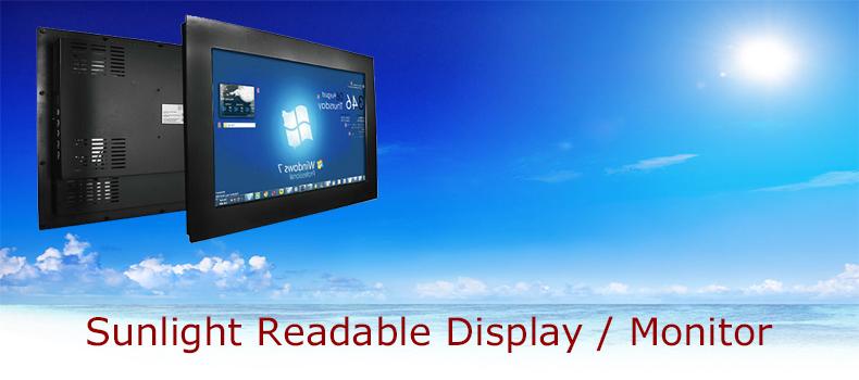 Sunlight Readable Monitor