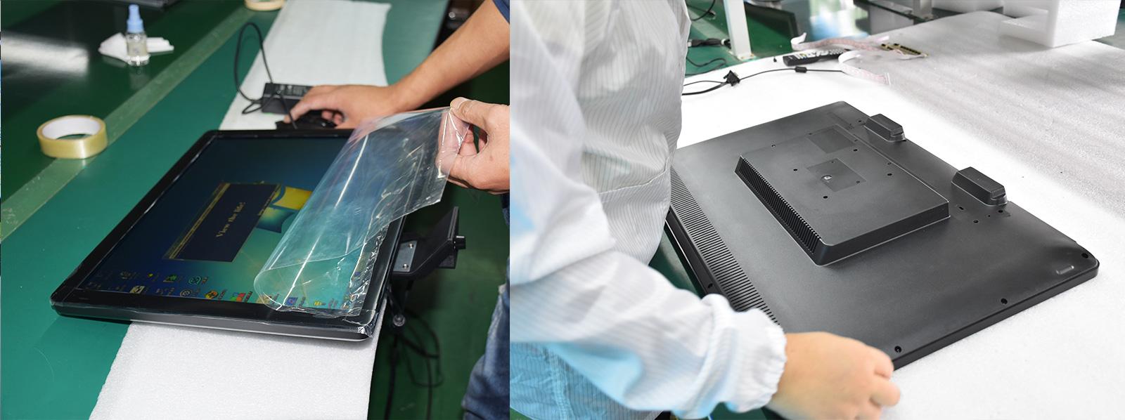 cpu Custom touch panel pc usb Hengstar