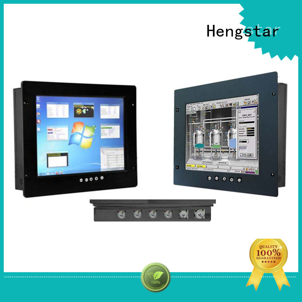 outdoor readable touch ip65 monitor sunlight Hengstar