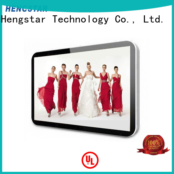 Custom fhd interactive signage digital Hengstar